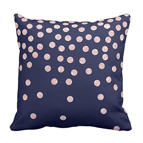 throw pillow cover girly rose