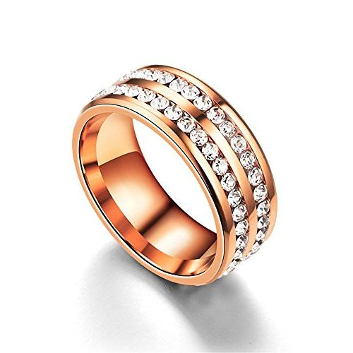 titanium stainless steel wedding bands plated 18k