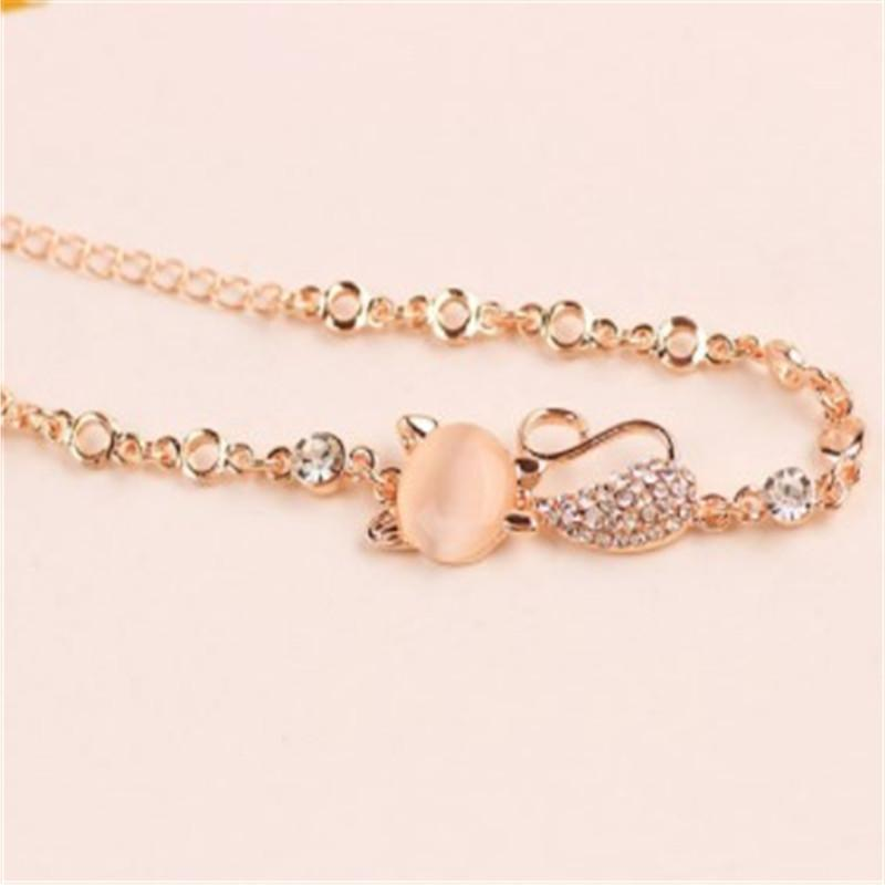 Trendy Jewelry <font><b>Rose</b></font> <font><b>Gold</b></font> Cute Zircon Charms for Women DIY Jewelry Gifts