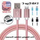 Type-C USB Charger Cable Cord for Samsung Galaxy S8 S9 Plus