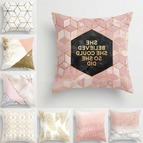 US Gold Throw Pillow Cover Decor
