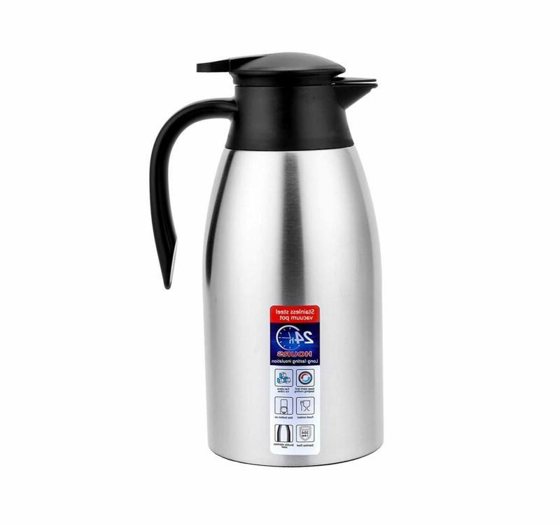 Vacuum Pitcher for Tea Coffee Hot