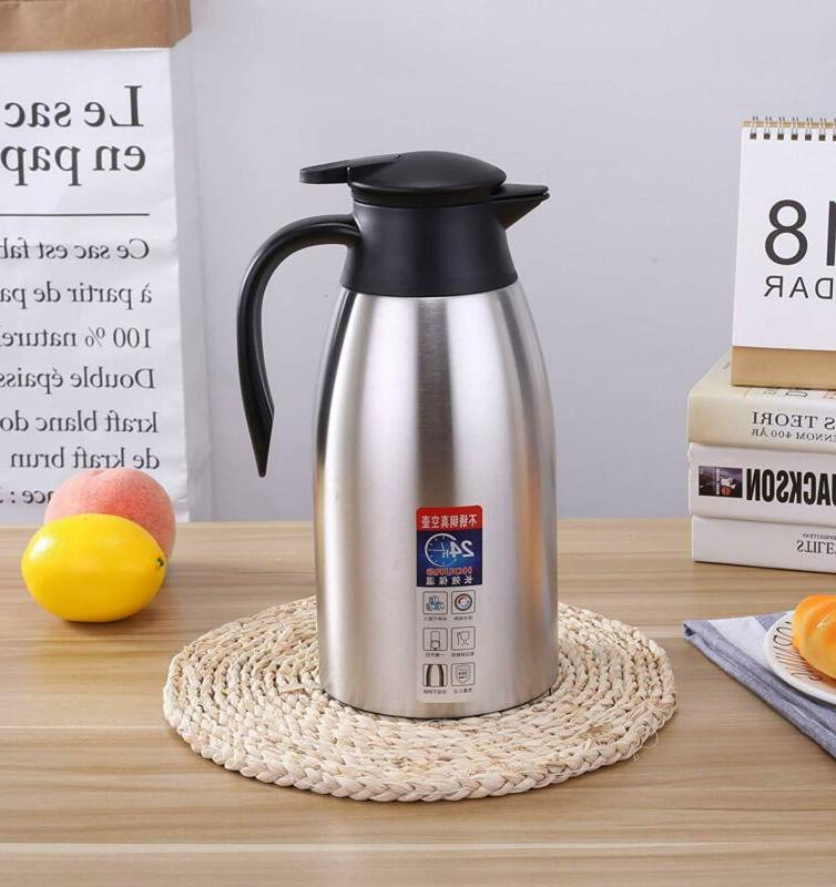 Vacuum Pitcher Stainless Tea Coffee