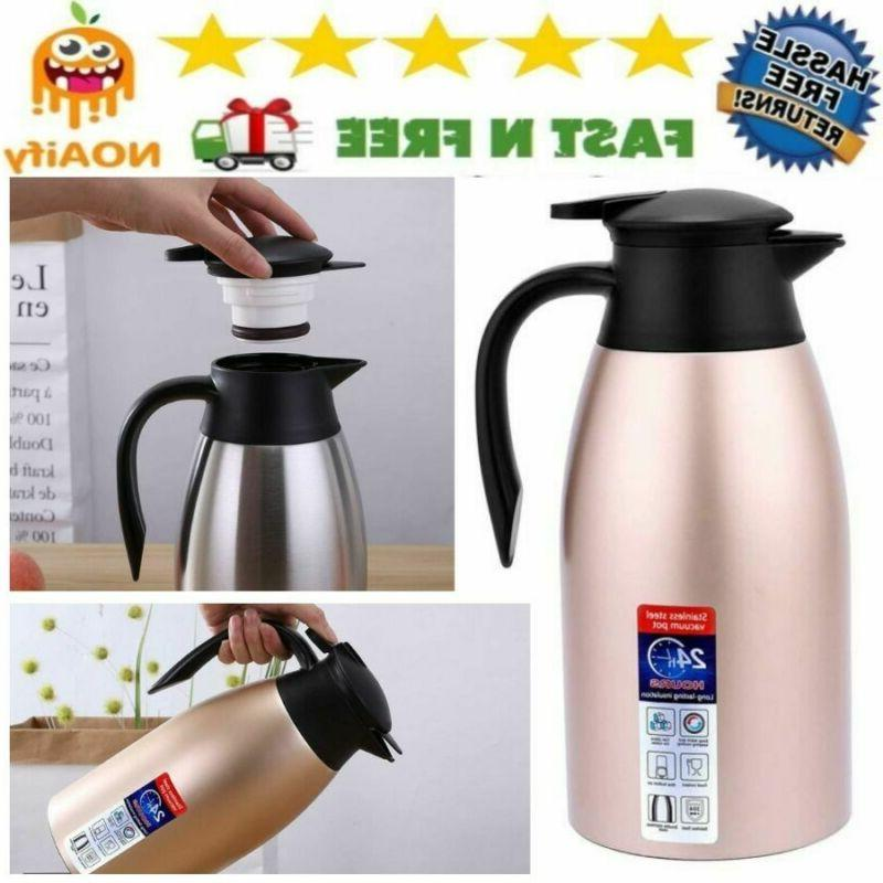 vacuum flasks and thermoses pitcher stainless steel