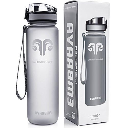 MIRA Vacuum Insulated Travel Water Bottle | Leak-Proof Doubl