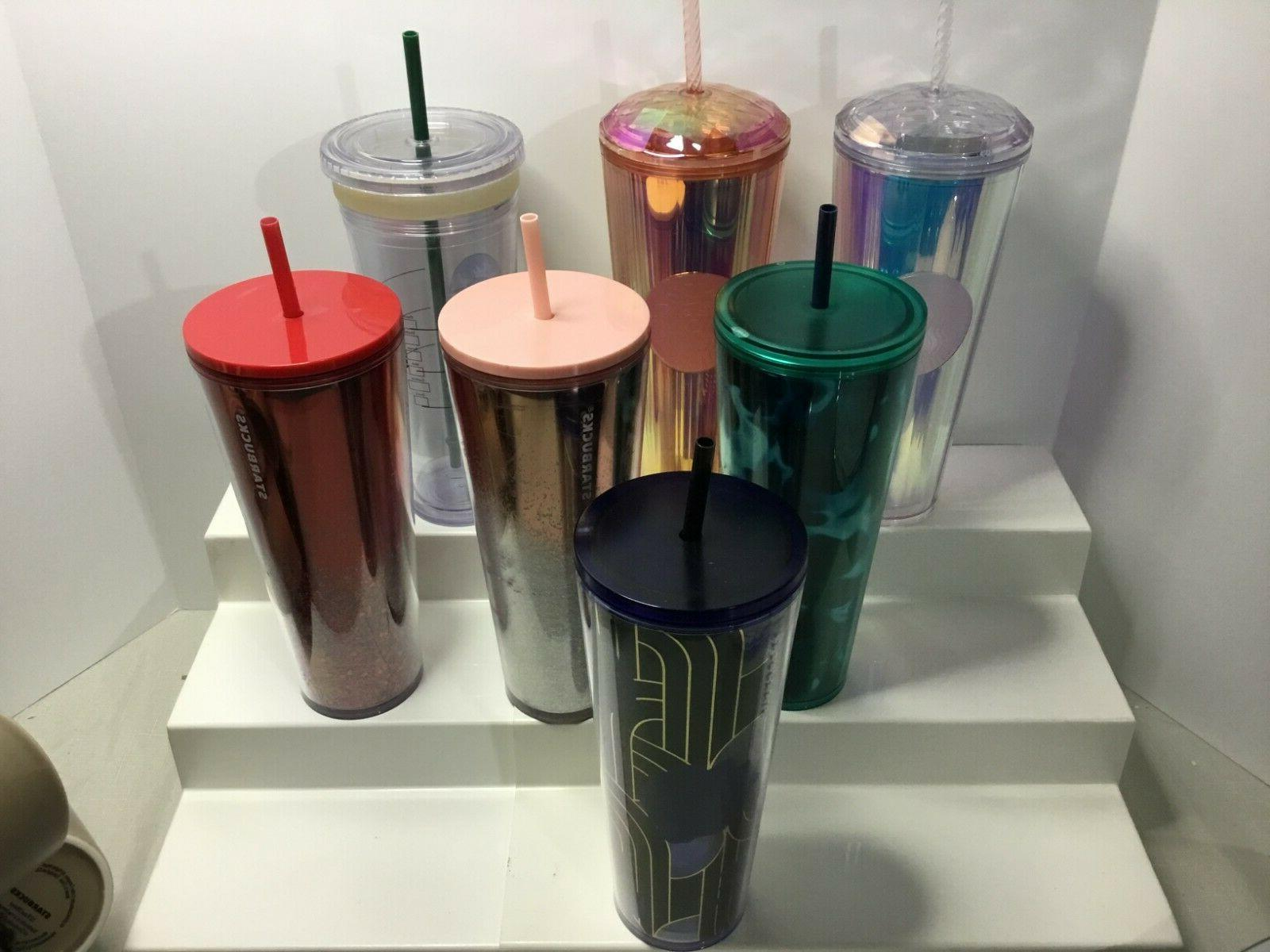 various venti iridescent red clear rose sparkle