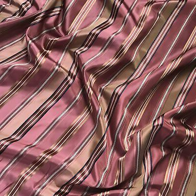 Vintage Rose French Stripe by the Yard - 55""