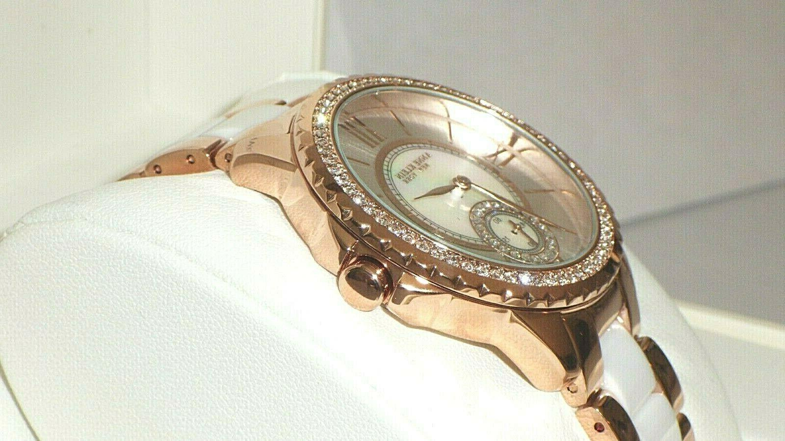 Anne Women's Crystal Rose Tone w/ Dial
