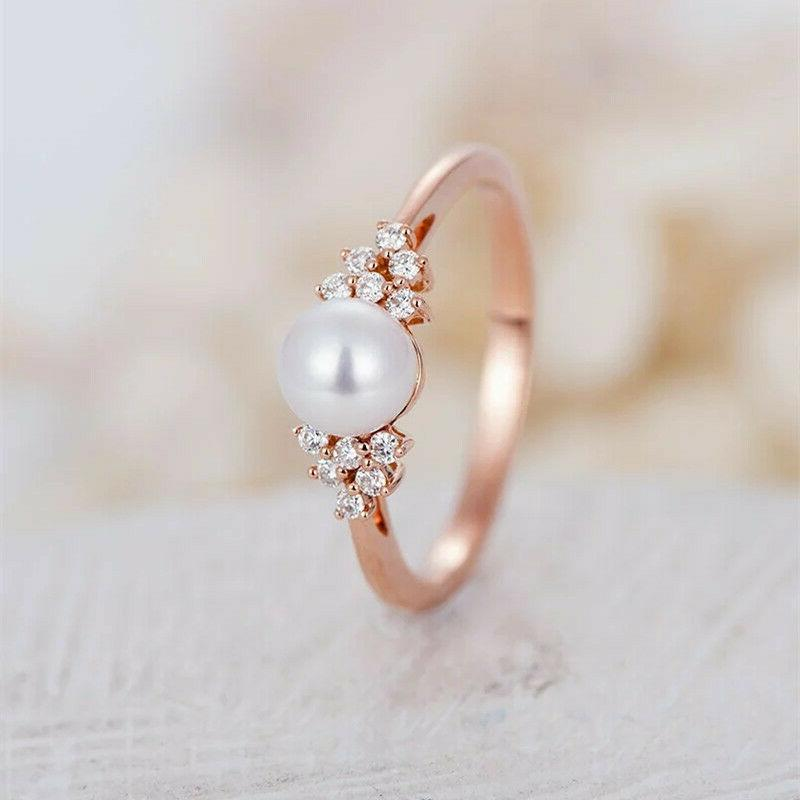Women's Gold Rings Band Jewelry 6-10