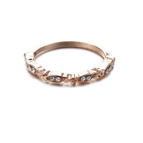 Women's Band Thin Engagement Rings