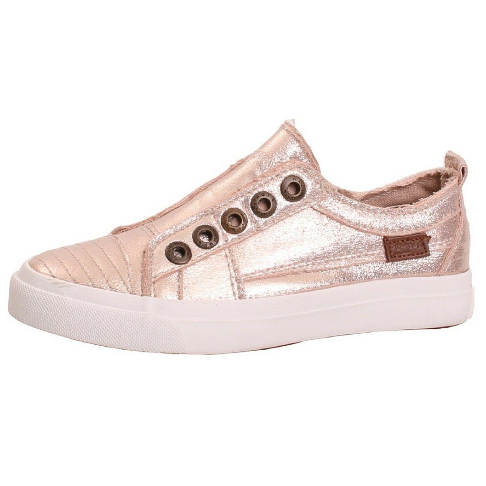 Women's Blowfish PLAY Rose Gold Lace-up Sneaker Shoes