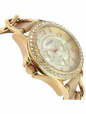 Fossil Rose-Gold Leather Japanese Fashion