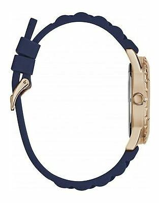 Guess Tone Stainless Steel Blue Rubber W1095L2