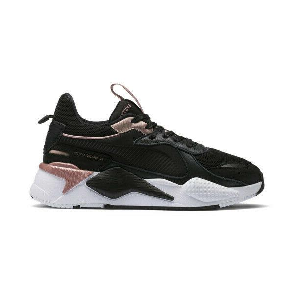 Women's Puma Trophy Black/Rose