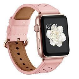 Leather Band for Apple Watch 38mm 40mm,iwatch Series 4 3 2 1