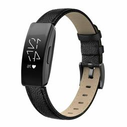 SWEES Leather Compatible Fitbit Inspire HR Bands/Fitbit Insp