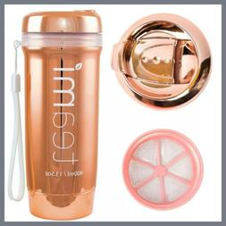 LIMITED EDITION Rose Gold Teami Tea Tumbler Infuser Bottle T