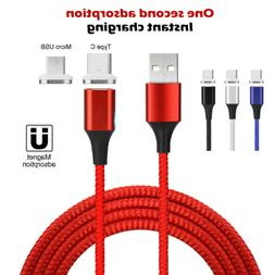 Magnetic Type-C / Micro USB Fast Charging Cable Charge for S