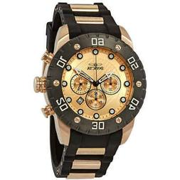 Invicta 20281 Men's 50mm Pro Diver Chronograph Rose Tone / B