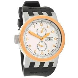 men s watch dna silver and rose