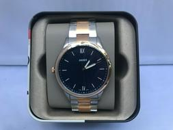 Fossil Men's Watch FS5498 'The Minimalist' Rose Gold Silver-