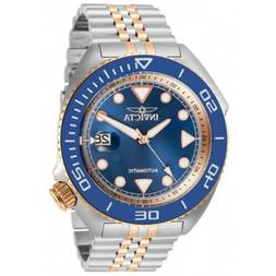 Invicta Men's Watch Pro Diver Automatic Blue and Rose Gold D