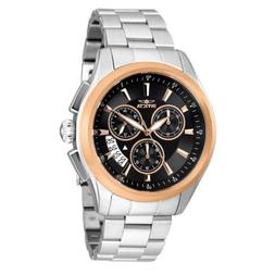 Invicta Men's Watch Specialty Chronograph Black and Rose Gol