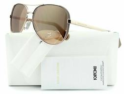 Michael Kors 0MK5004 1017R1 Chelsea Aviator Sunglasses Rose