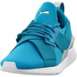 Puma Muse Perf Sneakers Casual    - Blue - Womens