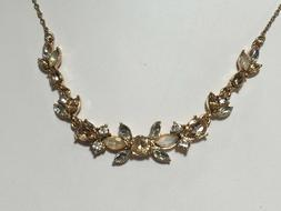 Anne Klein Necklace $32 Rose Gold Tone New Over Stock With T
