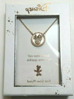 Disney Necklace $60 Rose Gold Tone New Over Stock With Box