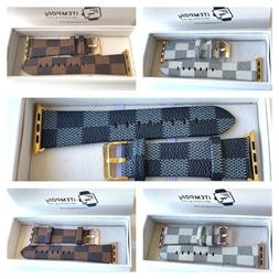 New Designer Apple watch band LV iwatch strap for series 1/2