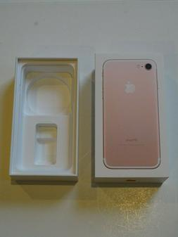 NEW Genuine Empty RETAIL Box For Apple iPhone 7 32GB Rose Go