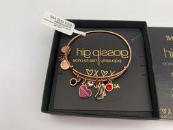 NEW Alex and Ani GOSSIP GIRL SPOTTED Multi Charm Rose Gold B