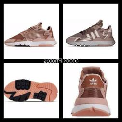 Adidas Nite Jogger BOOST Womens Running Shoes Sneakers Rose