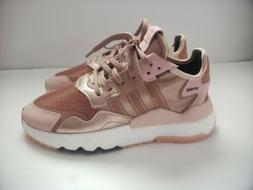 Adidas Nite Jogger W Pink Rose Gold EE5908 Trainers Shoes Wo