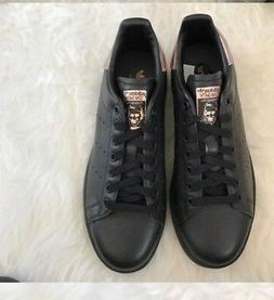 NWOB adidas Core Black W Rose Gold STAN SMITH Classic Traine