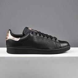 NWOB adidas Women's Core Black W Rose Gold STAN SMITH Classi