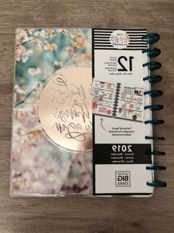 NWT The Happy Planner 12 Month 2019 Faith Planner Rose Gold