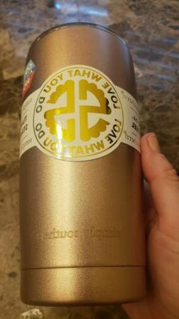 NWT insulated Tumbler Simply Southern rose gold  travel mug
