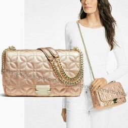 NWT 🦋 Michael Kors Quilted Leather Sloan Large Chain Shou