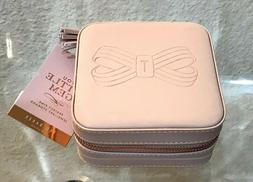 """NWT TED BAKER """" REL"""" PU Leather Rose Gold Tone Jewelry Box/"""