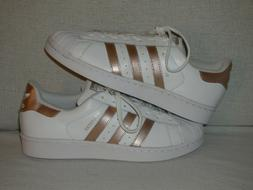 Adidas Originals Superstar W White Rose Gold-WOMEN'S SIZE 7.