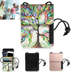 Passport Holder Leather Cover Travel Wallet Card Case Organi