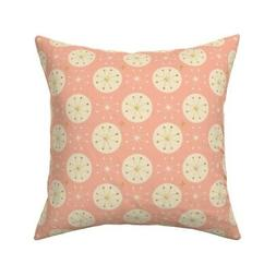 Pink Rose Gold Sparkles Shiny Throw Pillow Cover w Optional