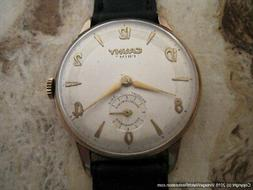 Cauny Prima Rose Gold with Art Deco Style Numbers, Manual, H