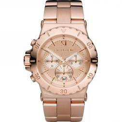 Michael Kors Quartz Rosegold Round Dial Rosegold Band - Wome