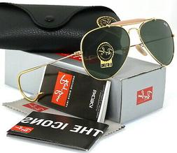 Ray-Ban Outdoorsman Gold l Green Classic G-15 RB3030 L0216 5