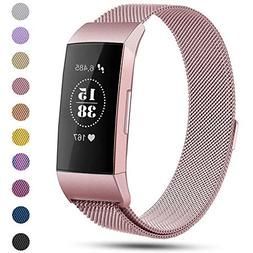 Replacement Compatible Fitbit Charge 3 Bands /Charge3 SE Met
