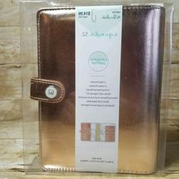 Rose Gold 6-Ring Binder Personal Planner by Agenda 52 and Pa